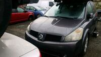2005 Nissan Quest For Parts Maple Ridge, V2W 1B9