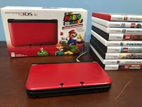 Super Mario Nintendo 3DS xl and 9 games Oakton, 22124