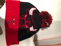 Black and red floral knit cap Vaughan, L6A 0H3