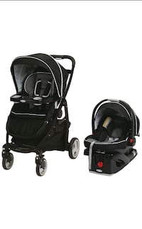 Graco click connect stroller + car seat + base Dorval, H9P 1J9
