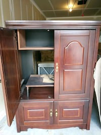 brown wooden cabinet with cabinet Kuna, 83634