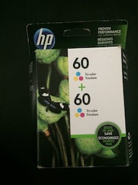 HP 60 Tri-color twin pack cartridge. New York, 10465