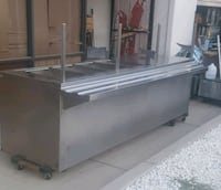 Beautiful 8 feet stainless gas serving table Montclair, 91763