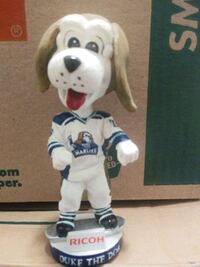 TORONTO MARLIES DUKE THE DOG BOBBLEHEAD AHL