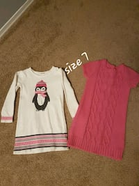 Gymboree sweater dresses size 7 London, N5Z 4Z1
