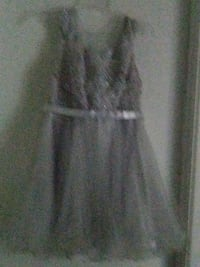 gray and white long-sleeved dress Tampa, 33612