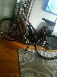 black and purple city bike Queens, 11367