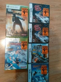 $4-$8Games New Sealed London