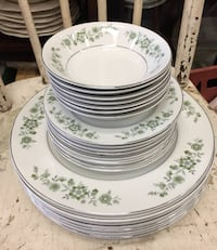 Vintage Dinnerware Set for 8 Johnson Brothers