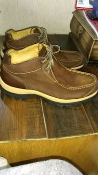 Size 13 perry ellis leather suede boots Tacoma, 98404