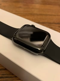 Used Apple Watch Series 4 40mm Black Stainless Steel GPS + Cellular Farmington
