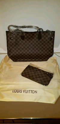 Very cute Louis Vuitton look alike never full bag with wallet Oxon Hill, 20745
