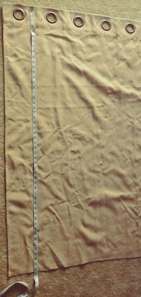 Pair of beige curtain panels Fairfax, 22031