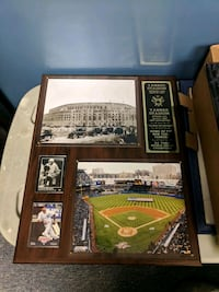 Original Yankee Stadium Plaque Wantagh, 11793