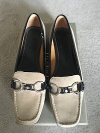 Cole Haan beige suede loafers size 8 Richmond Hill, L4E 3X7