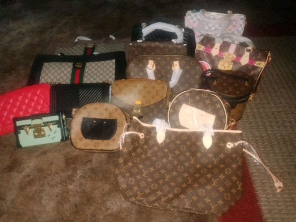 LV Gucci Chanel bundle 15 bags 0