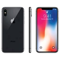 iPhone X - factory unlocked with box and accessori Sterling