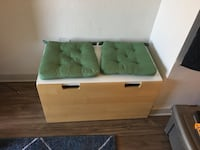 Toy bin and bench - toy storage, bench with or without cushions Denver, 80221