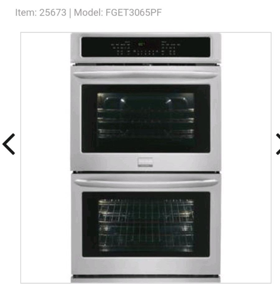 used new reduced price frigidaire double wall oven for sale in rh gb letgo com