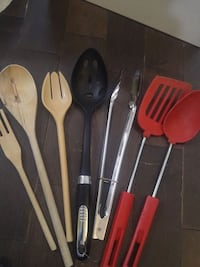 Kitchen needs ladels tongs slotted spoon etc Winnipeg, R2L 0X1