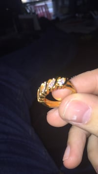 gold-colored and white pearl ring Mechanicsburg, 17050