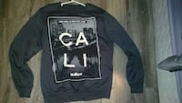 grey, white and black cali sweater Mission