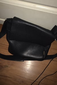 Ecco Leather Crossbody Bag
