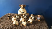 Collectable glass bears (NHL) London, N5Z 4P9