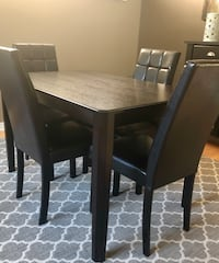 Dining Table and Chairs  Oakville