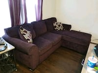 Purple couches with pillows New Braunfels, 78130