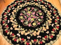 Claire Murray Botanical Fruit 7' Round Rug