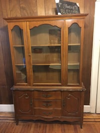 China Cabinet.. Must sell. $25. Must Go Philadelphia, 19138