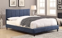 Upholstered Bed - Available in 4 Colors TORONTO