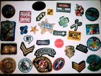 Assorted sew on patches Los Angeles, 90003