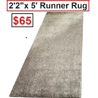 AJ- Chaudiere Silver/Ivory Runner Rug Mississauga