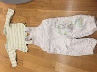 Disney motive overall and T-shirt size 3-6 months