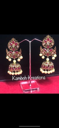 Indian jewellery earrings Brampton, L6P 3S1