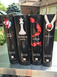four assorted color of Stephenie Meyer books Mississauga, L5B 4G7
