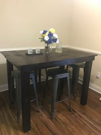 Handmade bar high table  Arlington