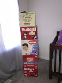 0-3/3-6mos /6 month baby girl clothes 8 huge boxes full ! Negotiable! Hamilton