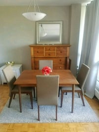 Solid Original Teak Table Circa 1960's Toronto, M4S 1C8