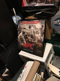 UFC framed picture frame alone costs 100.00 yours for 120.00 Medford, 02155