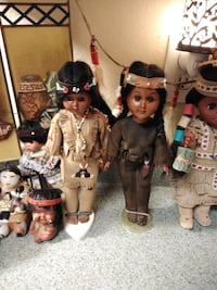 Native American Doll Collection all in good shape  West Valley City