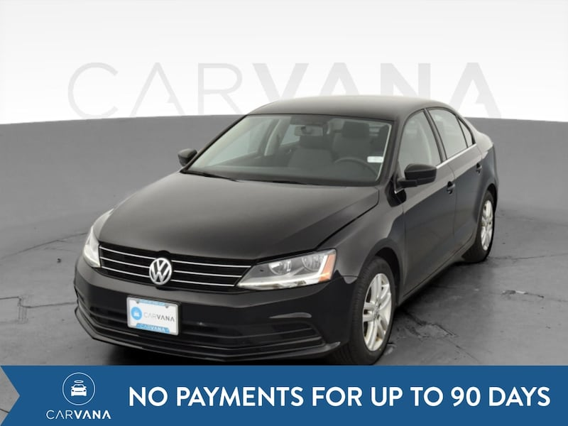 2017 VW Volkswagen Jetta sedan 1.4T S Sedan 4D Black <br /> 0
