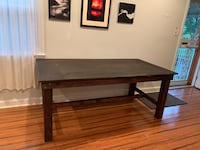 Handcrafted dining room table Washington, 20011