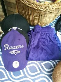 how to earn to youth Raven hat and one woman adult and 2 Youth shorts Baltimore, 21223