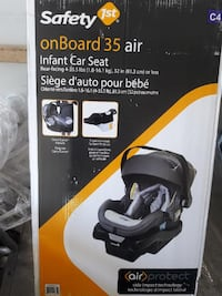 Brand New Safety 1st onBoard 35 Air Car Seat Shakespeare