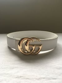 Gold Buckle White Gucci Rep Belt Mississauga, L5N 7G3