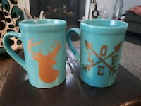 His and Hers Valentines Mugs  Welland, L3B 1M8