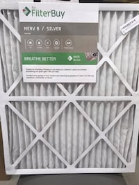 3pk Brand New Filters 20 x 24x1 Lordstown, 44481